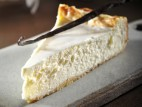 עוגת גבינה עם בצק פריך
