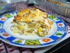 פשטידת זיתים ותירס
