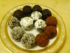 כדורי שוקולד קלים להכנה