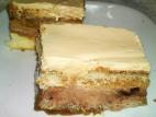 עוגת גלידה בטעם שוקולד וקפה