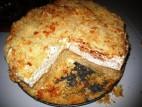עוגת קרם שמנת עם פירורים