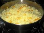 אורז צהוב עם תירס