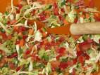 סלט ירקות קל להכנה