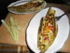 פילה אמנון במיקס ירקות אפוי בקליפות תירס