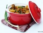 תבשיל כרעי עוף עם ירקות