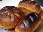 לחם כפרי ביתי עם גרעיני חמנייה