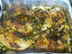 כרעי עוף בתנור עם זיתים