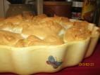 עוגת גבינה עם קצף אפוי