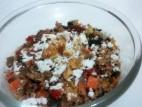 סלט קוסקוס מלא עם ירקות