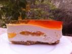עוגת גבינה קרה ומשמש