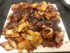 אסאדו עם תפוחי אדמה ובצל