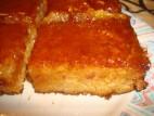 עוגת דבש בציפוי טופי