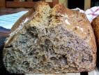 לחם ללא שמרים - לחם מחמצת שיפון