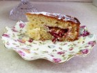 עוגת שזיפים קלה להכנה