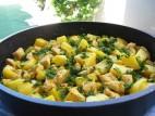 תבשיל חזה עוף עם תפוחי אדמה