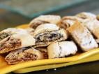 עוגיות פריכות ב- 4 טעמים