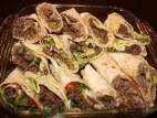 טורטיה במילוי בשר