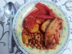 פילה אמנון בתבשיל ירקות