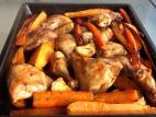 כרעיים בתנור עם ירקות שורש
