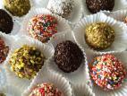 כדורי שוקולד צבעונים