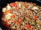 חמין אורז טבעוני ללא גלוטן
