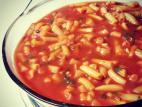 תוספת שעועית צהובה ברוטב עגבניות