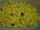 פתיתים עם ירקות מוקפצים