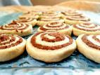 עוגיות ספירלה בטעם שוקו-וניל