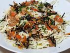 נודלס ברוטב חמאה ופטריות כמהין