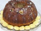 עוגת דבש בננה