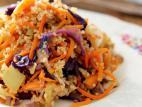 קינואה עם ירקות מוקפצים