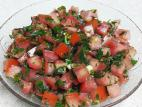 סלט עגבניות חריף קל להכנה