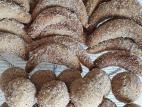 עוגיות קינמון קלות להכנה בציפוי סוכר-קינמון