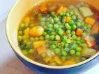 מרק אפונה ירוקה