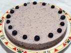 עוגת אוכמניות טבעונית