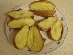 תפוחי אדמה אפויים בתנור עם קליפה