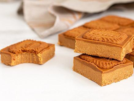 חיתוכיות לוטוס, חמאת בוטנים ושוקולד לבן