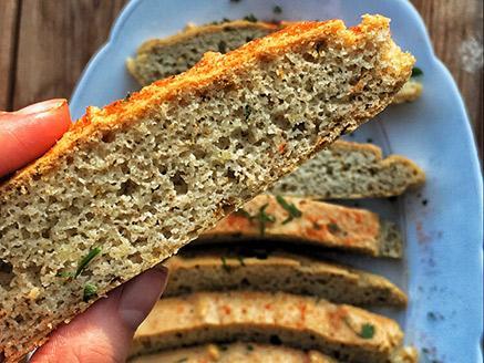 לחם מקמח שקדים ללא גלוטן