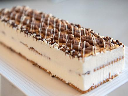 עוגת ביסקוויטים דובוני שוקולד