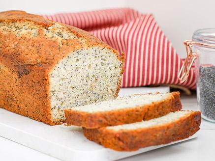 עוגת ארל גריי, פרג ולימון