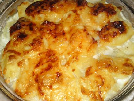 תפוחי אדמה מוקרמים בשמנת