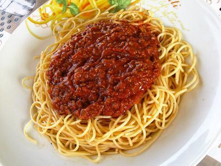 ספגטי ברוטב בולונז
