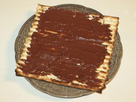 מצה עם שוקולד