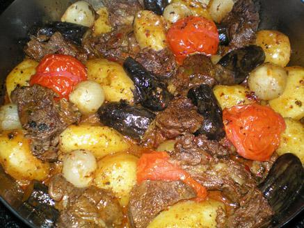 צ`נאחי - תבשיל קדרה מהמטבח הגיאורגי