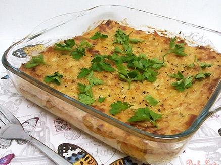 פריטטה טבעונית עם תחליפי גבינות וקישואים