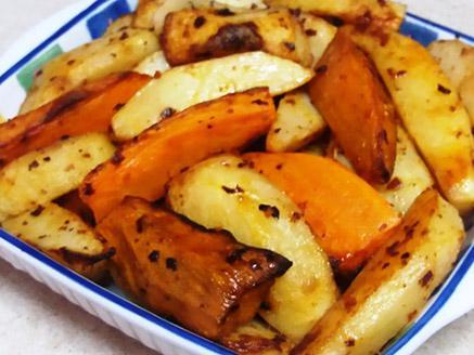 תפוחי אדמה צלויים במיונז