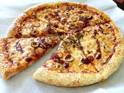 פיצה שומשום