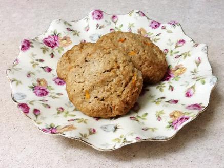 עוגיות קוואקר עם גזר