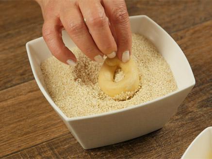 עוגיות שומשום - כעכים מלוחים