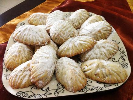 עוגיות חמאה ופיסטוקים